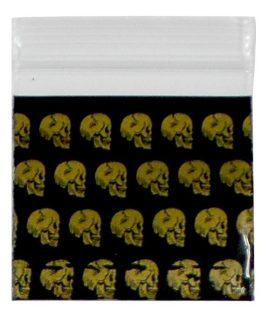 Golden Skull Bag (40mm X 40mm)
