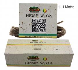 MWP Organic Hemp Wick 1 Metre