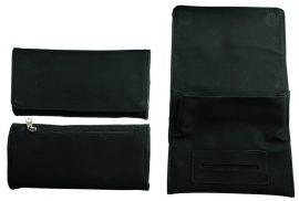 Black PU Tobacco Pouch- Fit 50g