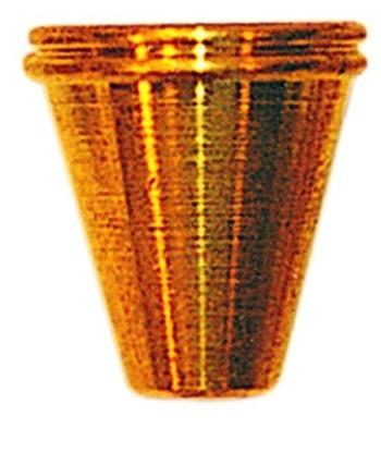 Medium Slip In Brass Cone