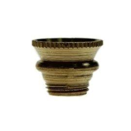 Small Screw In Cone Brass