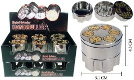 Extra Large 6 Shooter Grinder With Storage