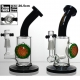 WEEDO Gold Label Splash of Colour Bong (free stickers)