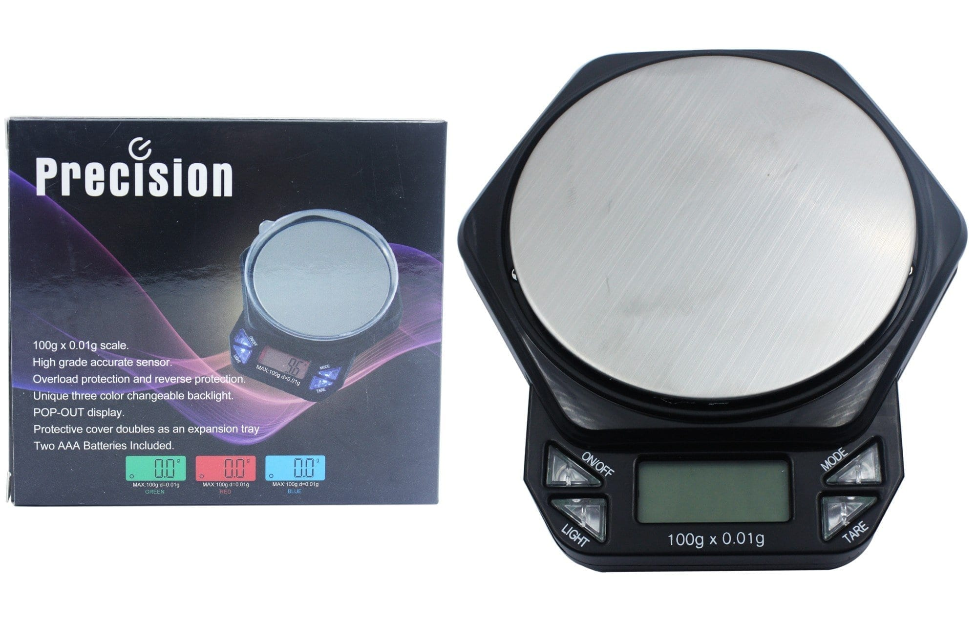 Precision Pop Out Display Scale 100g X 0.01g