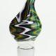 Multi Coloured Glass Cone 19mm