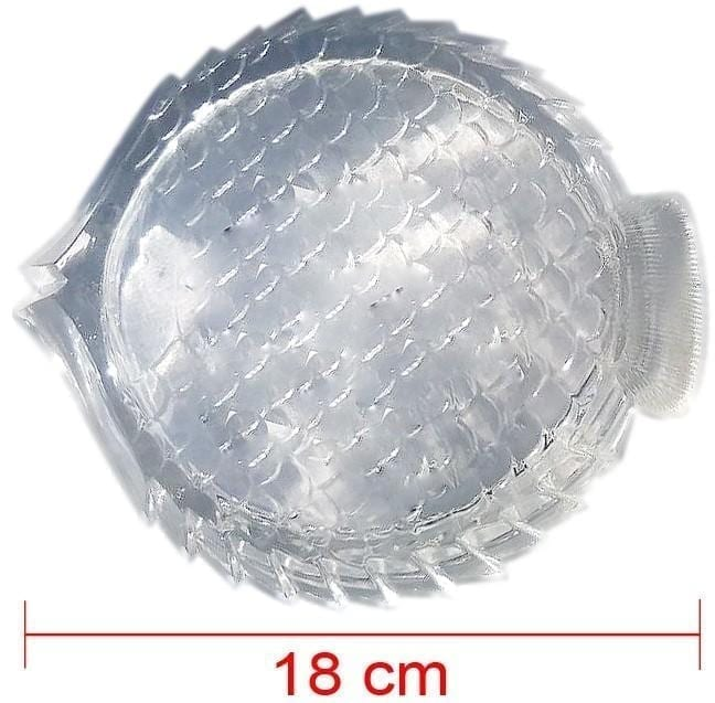 Glass Fish Ashtray - Medium (18cm)