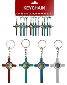 Keychain Cross Dry Pipe