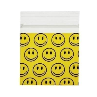 Smiley Face Bag 32mm x 32mm