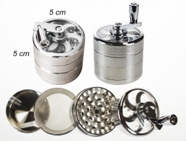 4 Layer High Quality Metal Grinder With Handle
