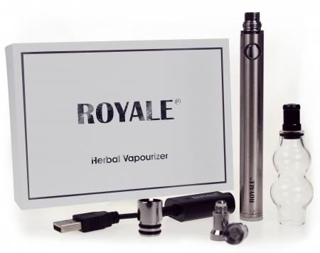 Hand Held Adjustable Multi Voltage Herbal Vapouriser (1100MAH)