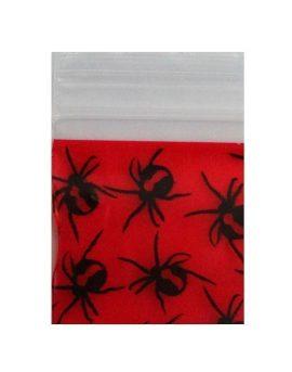 Red Back Spider Bag 25x25mm