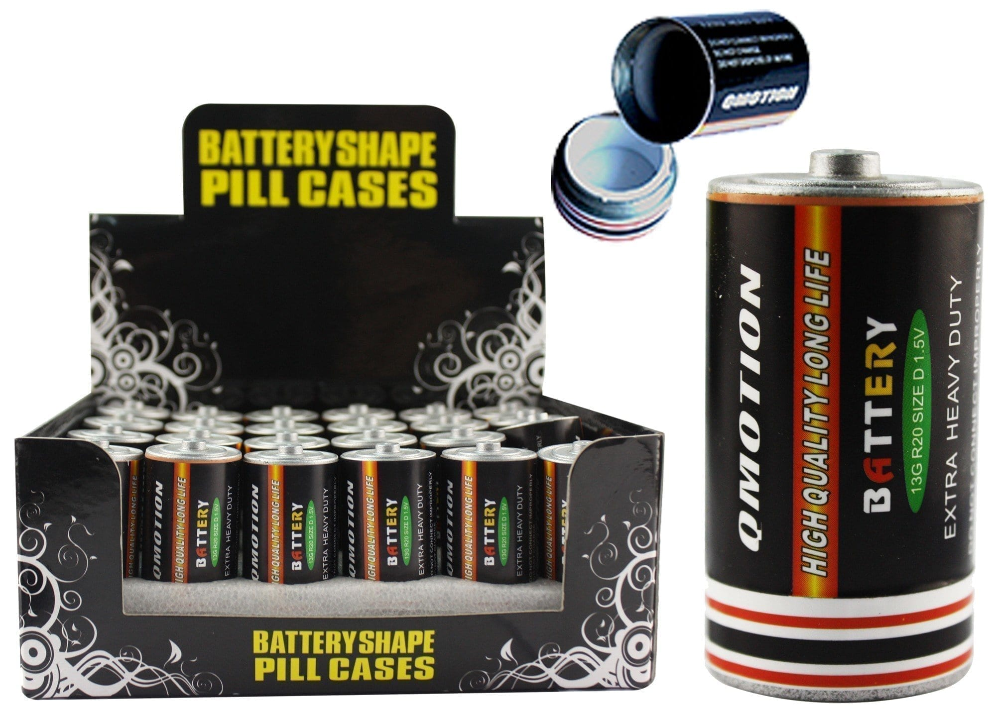 """C"" Battery Pill Storage"