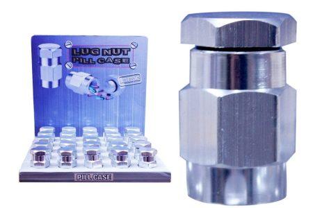 Lug Nut Pill Case