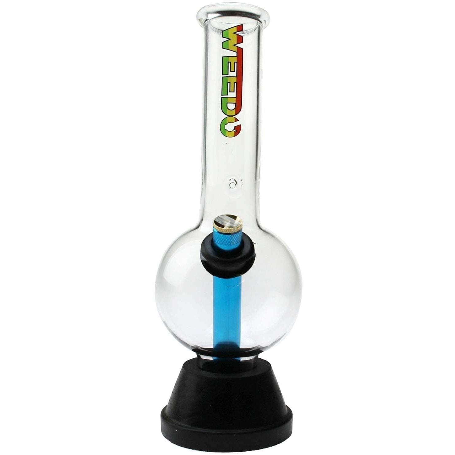 WEEDO Ball and Stick bong (free stickers)