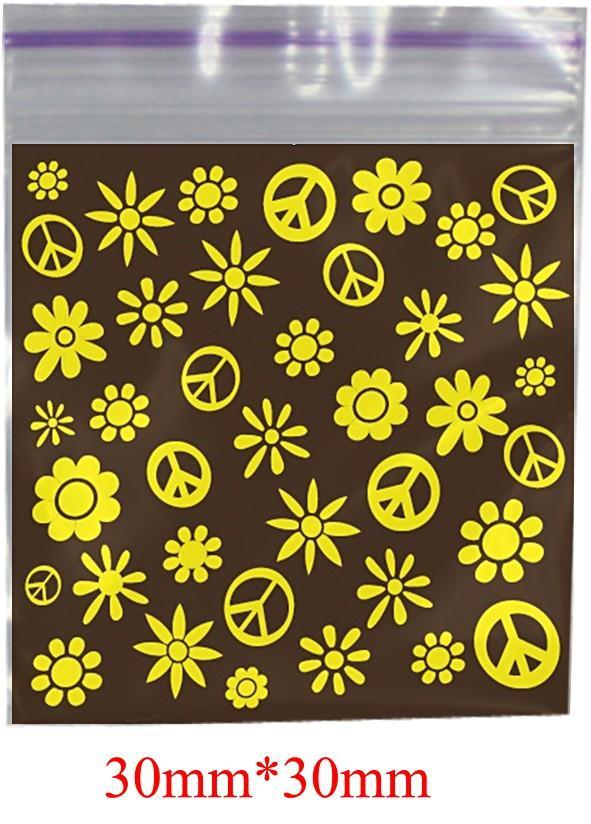 Hippie Printed Bag 30mm X 30mm