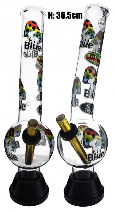 XLarge Glass Bonza Bubble - Mushroom (36.5cm)