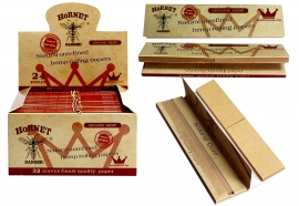 Hornet King Size Papers With Rolling Filter Tips