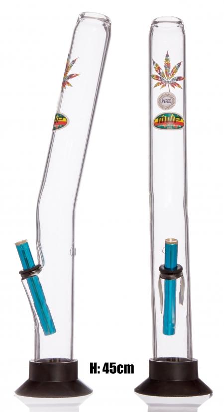 MWP Large Bonza Bent Didgeridoo- Coloured Leaf