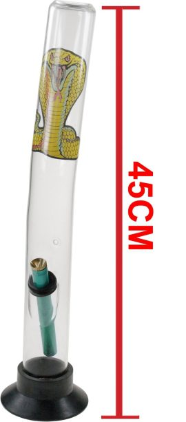 Cobra Glass Waterpipe 45cm