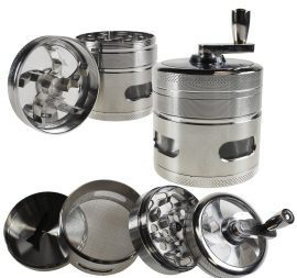 4 Piece Muller With Handle