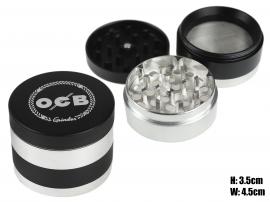 OCB 4pc Laser Cut Grinder With Storage