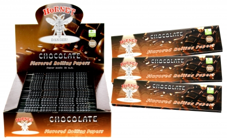 Hornet Rolling Papers King Size - Chocolate Flavour