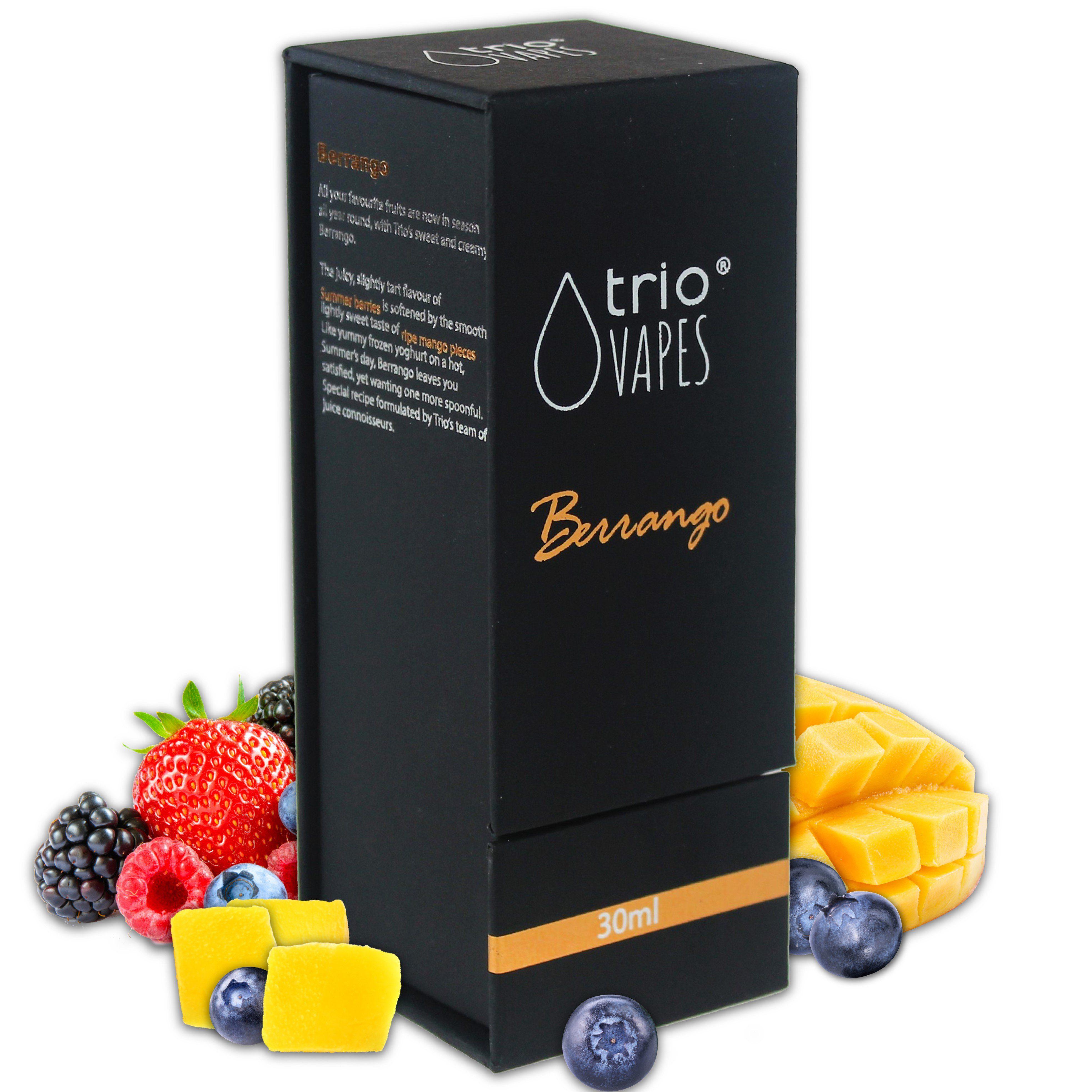 Trio Vapes Premium E-Liquid - Berrango