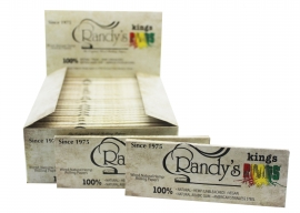 Randy's Roots Papers Organic Hemp (110mm) King Size