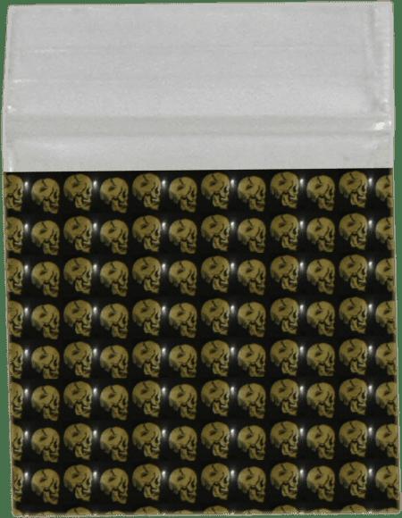 Gold Skull Bag 32mm x 32mm