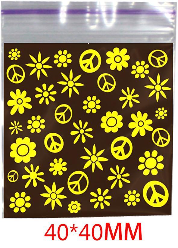 Hippie Printed Bag 40mm X 40mm