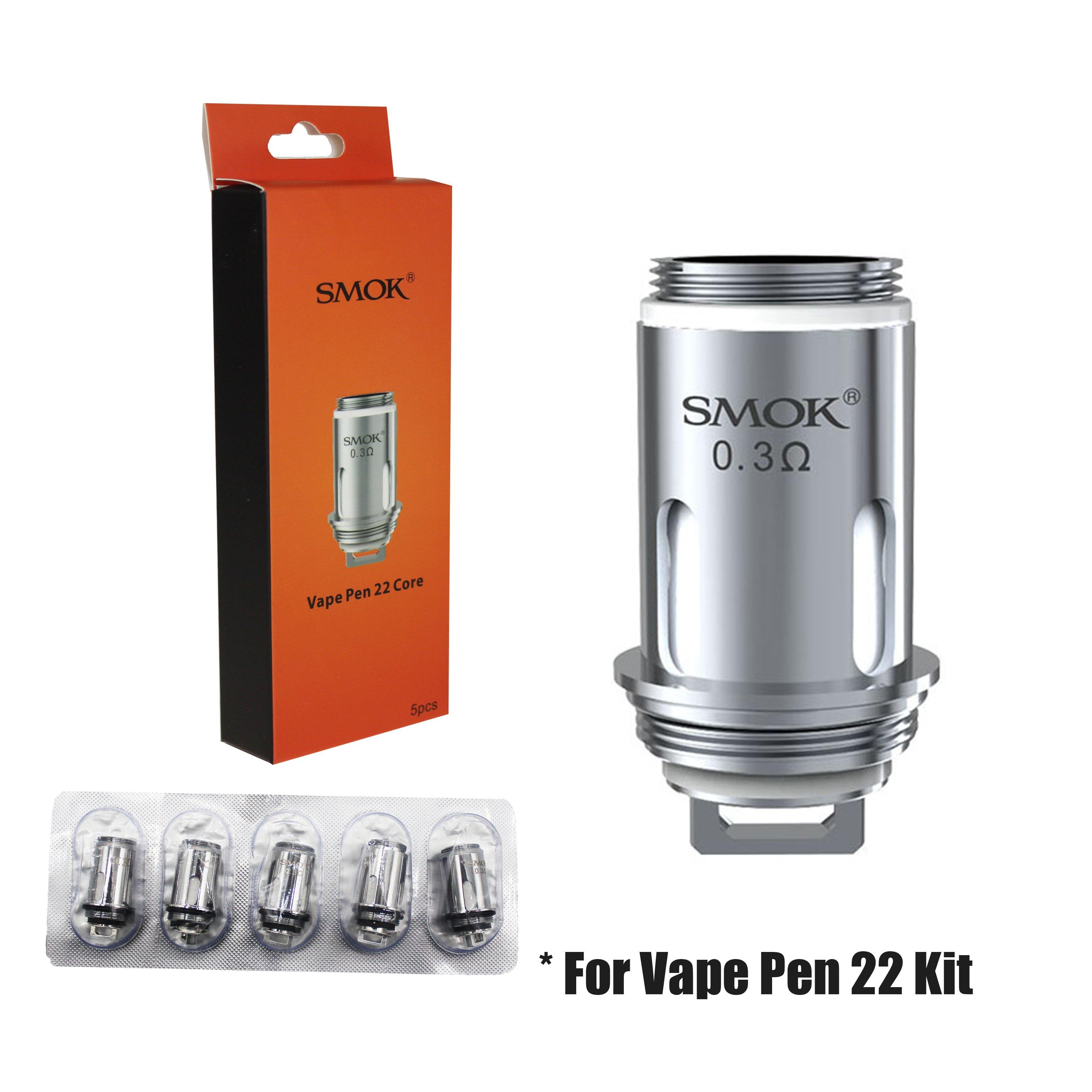 SMOK COIL 0.3 OHM - Fits SM01 Vape Pen 22