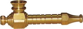Small Brass Spike Pipe (7.5cm)