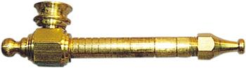 Large Brass Spike Pipe (12cm)