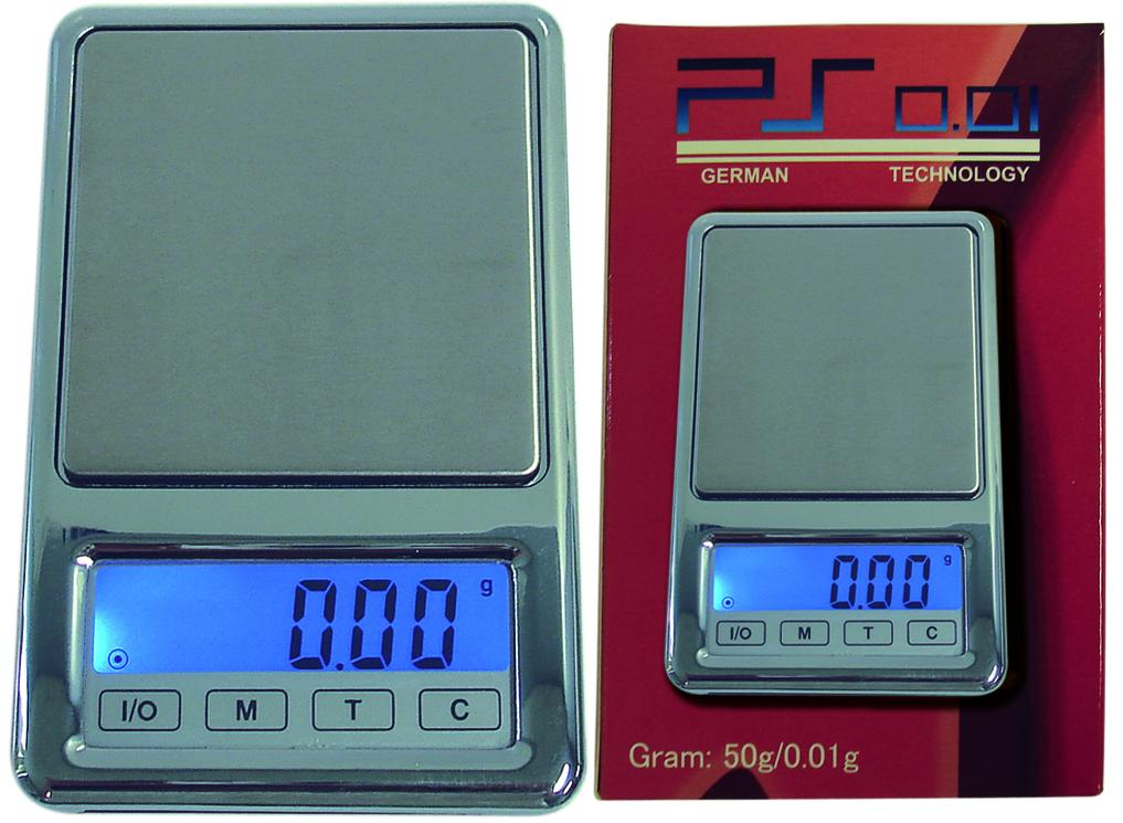 German Tech Touch Screen Digital Scale (0.01g/50g)