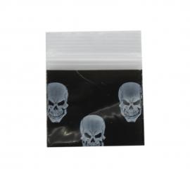 Black Skull Bag 25mm x 25mm