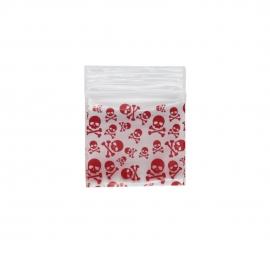Red Skull Bag 32mm x 32mm