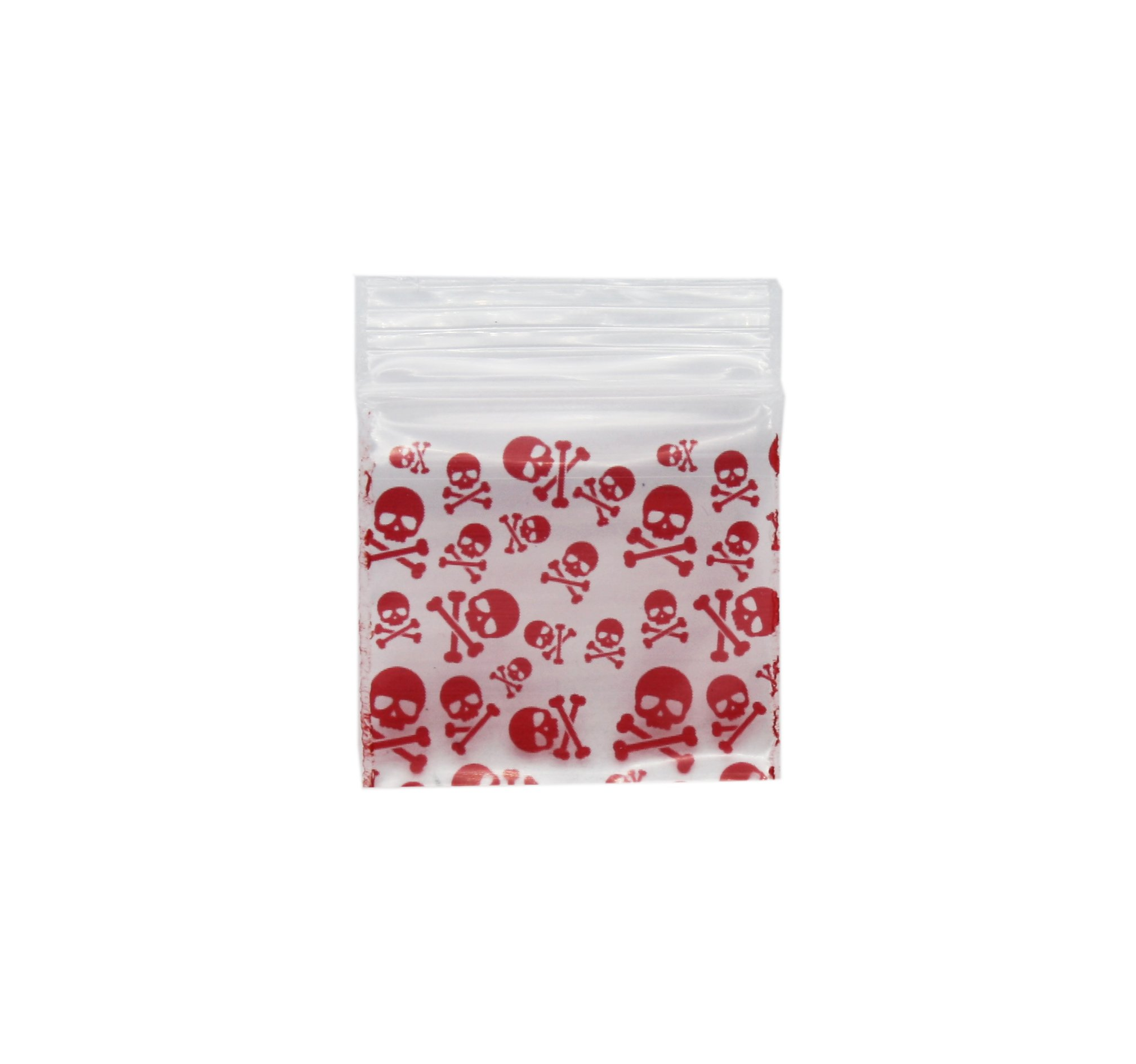 Red Skull Bag 32mm x 32mm