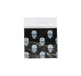 Black Skull Bag 38mm x 38mm