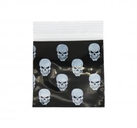 Black Skull Bag 51mm x 51mm