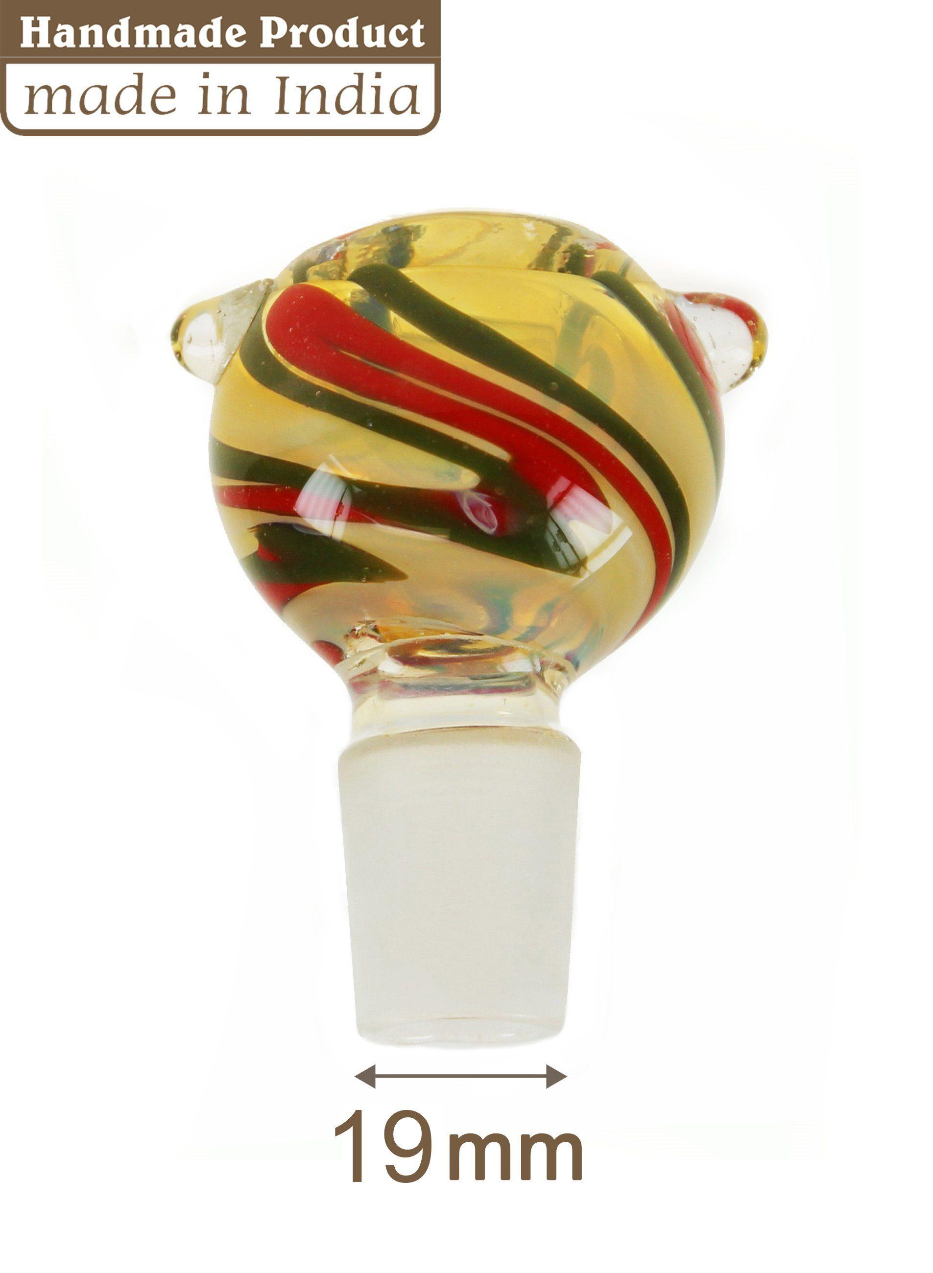 Multi Coloured Glass Cone - 19mm
