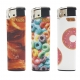 Fast Food Normal Flame Lighter x5