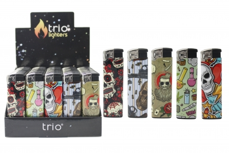 Rebel Normal Flame Disposable Lighters