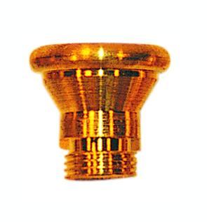 Medium Screw In Cone Brass