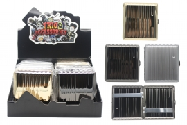 Metal Cigarette Case (holds 18 Cigarettes)