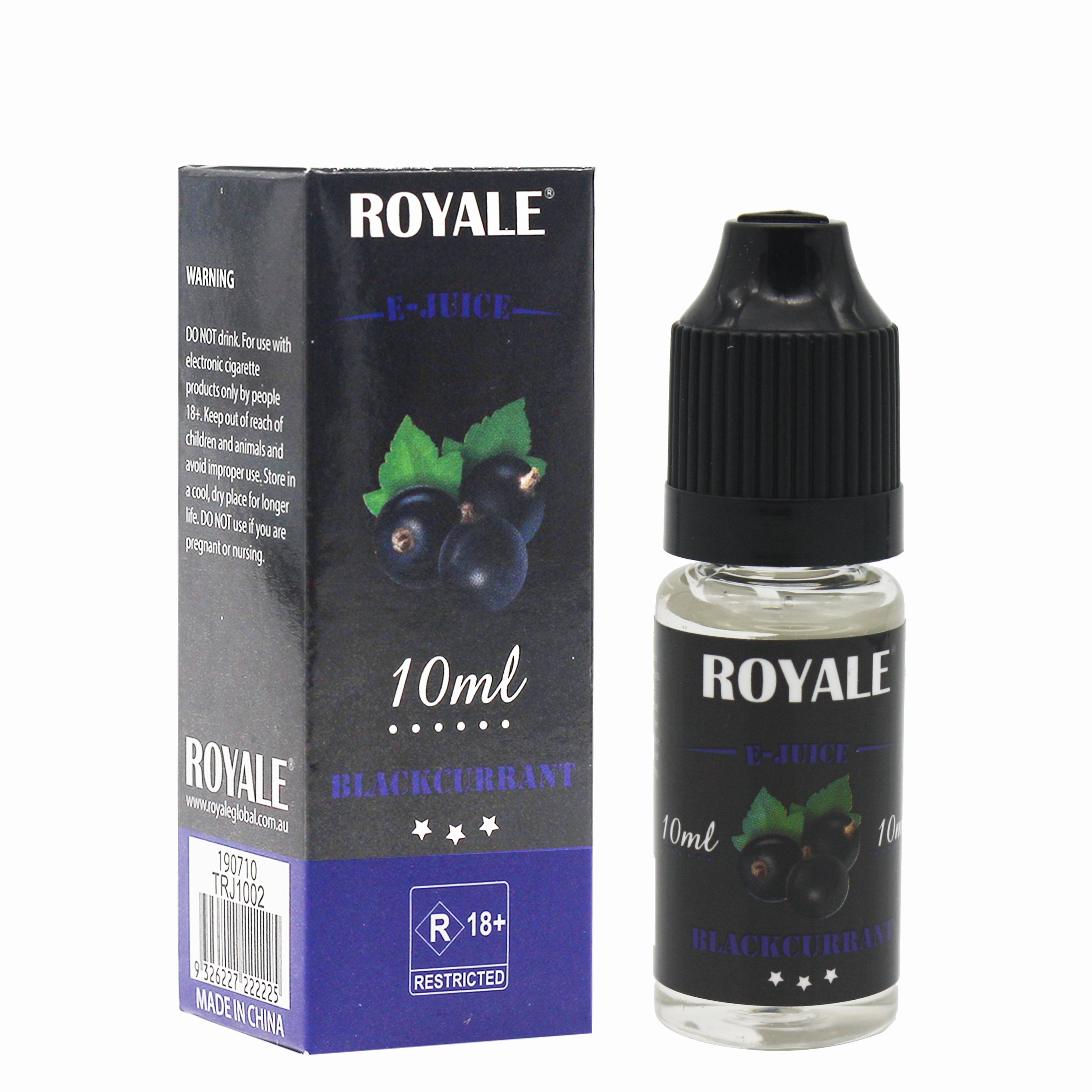 Royale E-juice- Blackcurrant