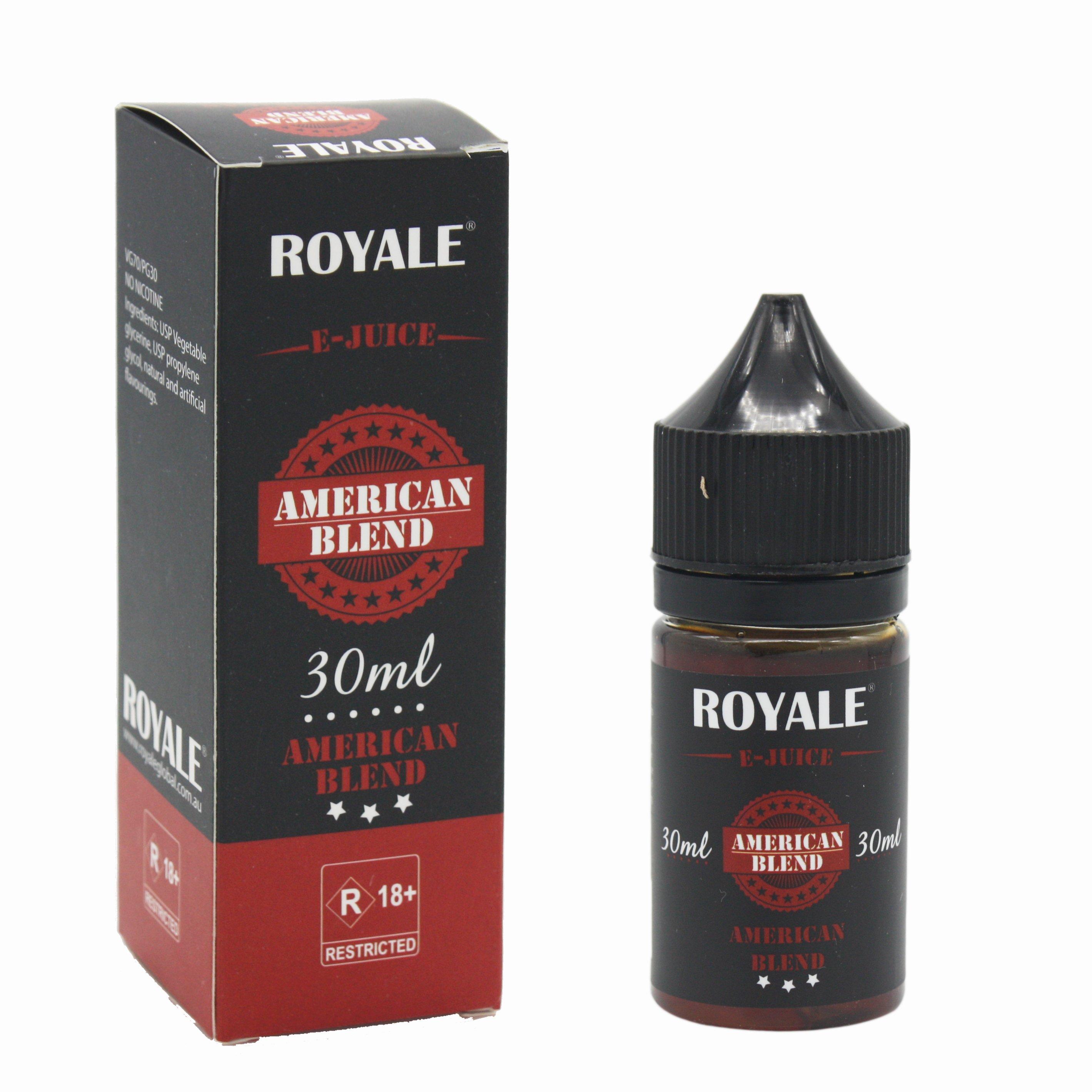 Royale E-juice American Blend 30ml