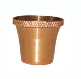 Medium Bonza Cone Brass - Bong Piece