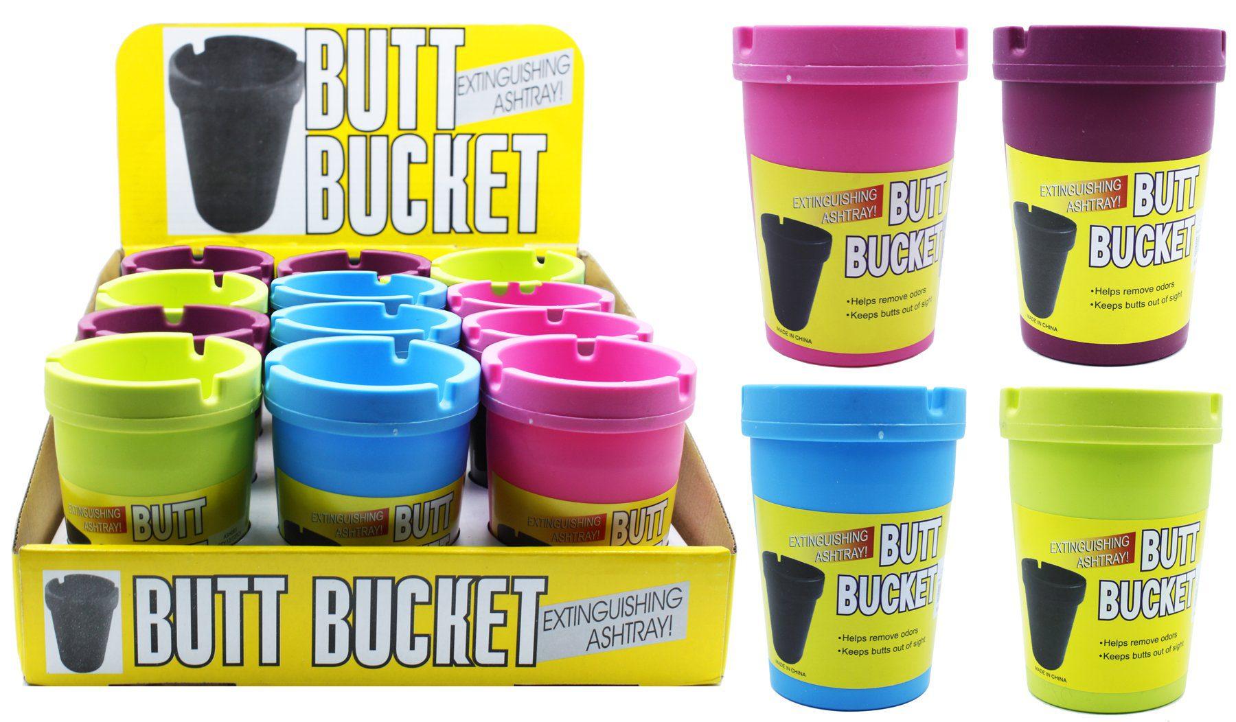 Small Colour Fluro Butt Bucket