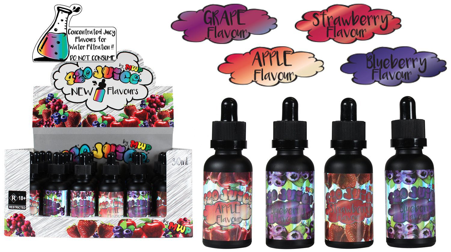 420 Juice - Special Mix For Water Flavour x4