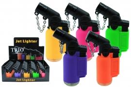 Fluro Matt Rubber Jet Lighter